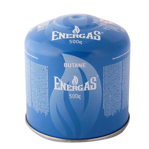 ENERGAS ΦΙΑΛΙΔΙΟ 500gr Gas Block System(ΕΛ)