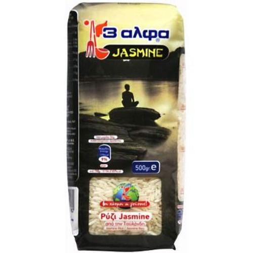 ΡΥΖΙ JASMIN 500γρ 3Α εισαγωγής