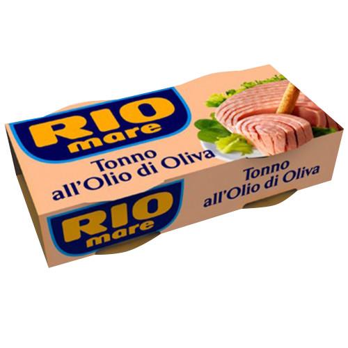 RIO MARE τόνος ελαίου 2τεμ x 160gr (ΕΛ)