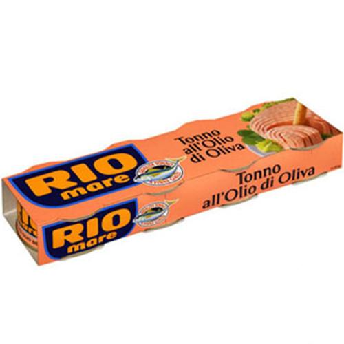 RIO MARE τόνος λαδιού 4τεμ x 80gr (ΕΛ)