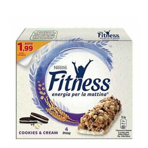 FITNESS μπάρες δημητριακών cookies (πτλ1,99€ 4τεμ)
