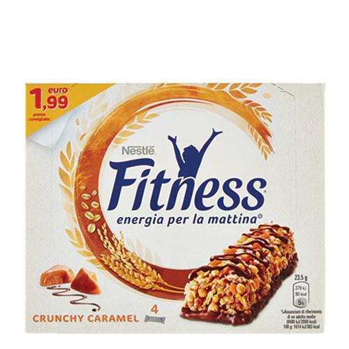 FITNESS μπάρες δημητριακών caramel (πτλ1,99€ 4τεμ)