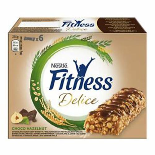 FITNESS μπάρες δημητριακών 6τεμ choco hazelnut(ΕΛ)