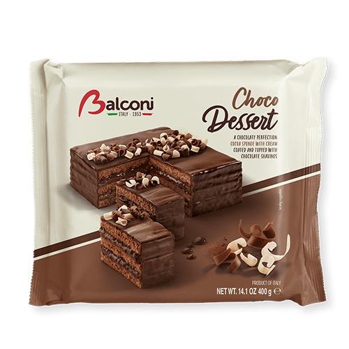 BALCONI cakes 400gr choco dessert