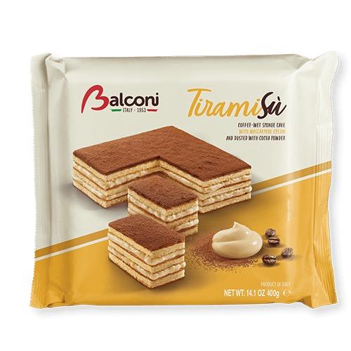 BALCONI cakes 400gr tiramisu