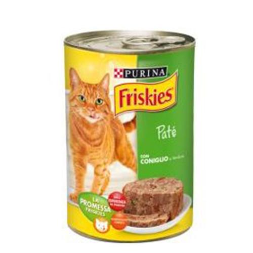 FRISKIES κον.γάτας 400gr(ΕΛ) pate κουνέλι