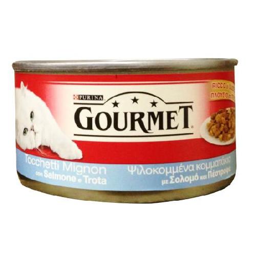 GOURMET 195gr σολομός-πέστροφα(ΕΛ)