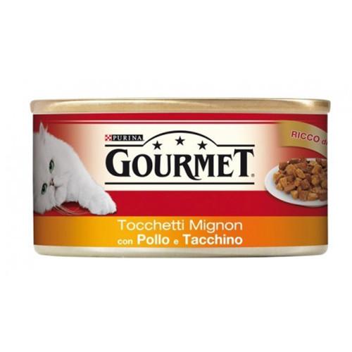 GOURMET 195gr κοτόπουλο-γαλοπούλα(ΕΛ)