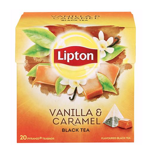 LIPTON πυρ 20x1,7γρ (ΕΛ) caramel-vanilla