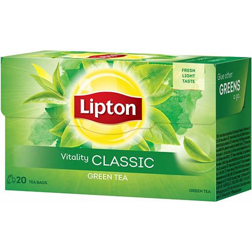 LIPTON green tea 20x1.3gr (ΕΛ) classic