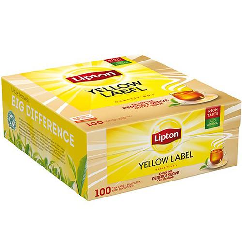 LIPTON τσάι 100φακ x 1,5gr ντυμένο(ΕΛ)