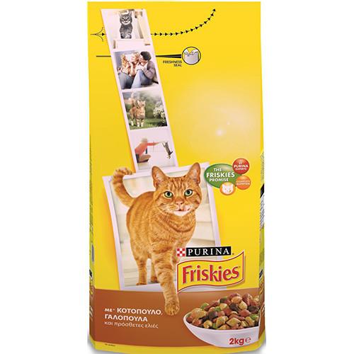 FRISKIES ΚΡΟΚΕΤΕΣ ΓΑΤΑΣ 2kg(ΕΛ) κοτόπουλο