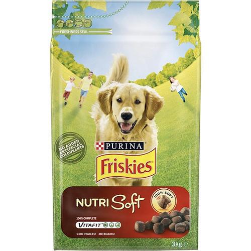 FRISKIES NUTRI SOFT ΣΚΥΛΟΥ 1,5k (ΕΛ) βοδινό
