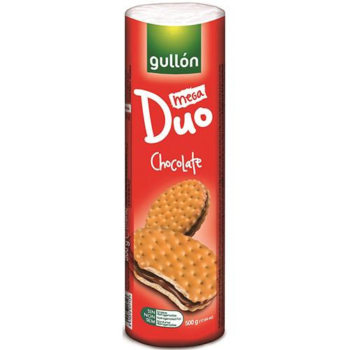 GULLON μπισκότα γεμιστά choco 500gr (ΕΛ)