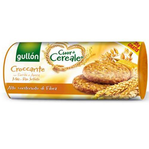 GULLON μπισκότα με ρύζι και φυτικές ίνες 265gr