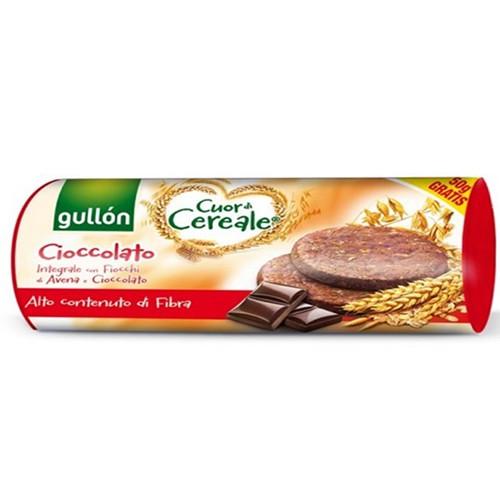 GULLON μπισκότα με δημητριακά 280gr choco