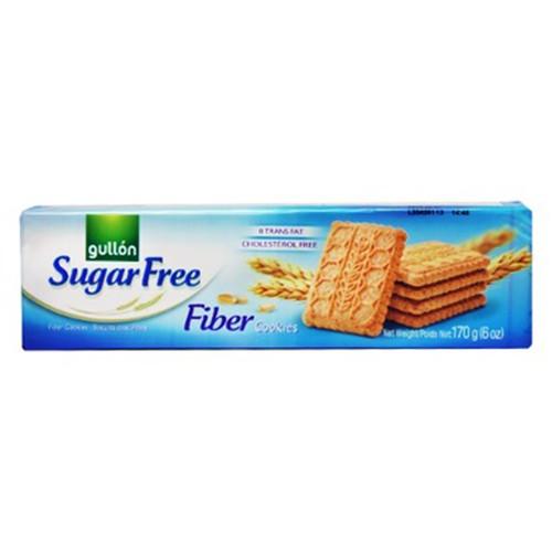 GULLON μπισκότα fibre 170gr sugar free