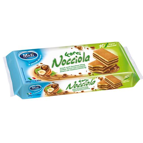 MIDI cake 280gr 10τεμ (ΕΛ) nocciola