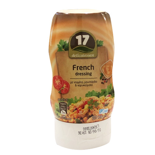 17 (ΚΑΛΑΣ) FRENCH DRESSING 250gr (ΕΛ)