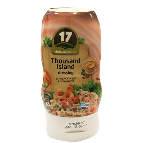 17 (ΚΑΛΑΣ) THOUSAND ISLAND DRESSING 250gr (ΕΛ)