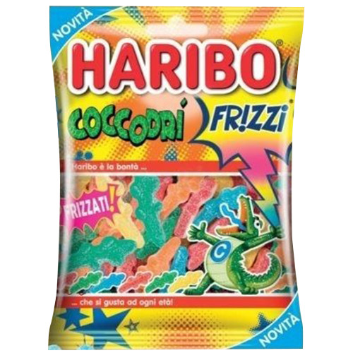 HARIBO 175gr frizzi coccodri