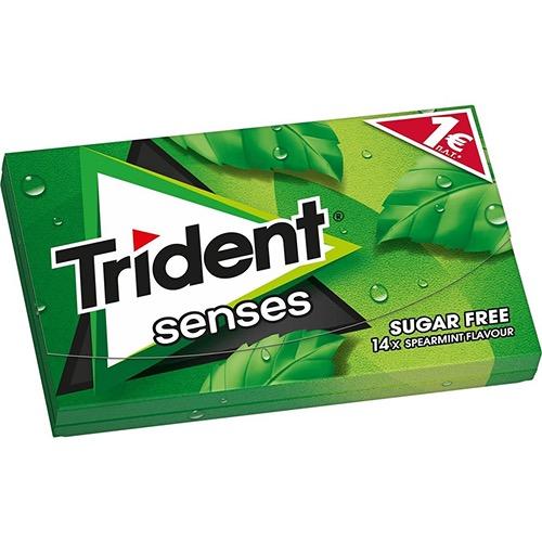 TRIDENT senses 27grΧ12τσιχ 1€ (ΕΛ) rainforest mint