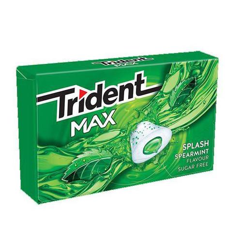TRIDENT max frost 20grX16τσιχ 1€ (EΛ) δυόσμος