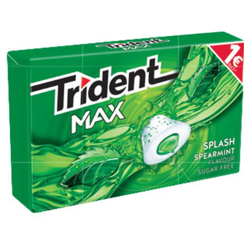 TRIDENT splash 22grX16τσιχ 1€ (ΕΛ) δυόσμος