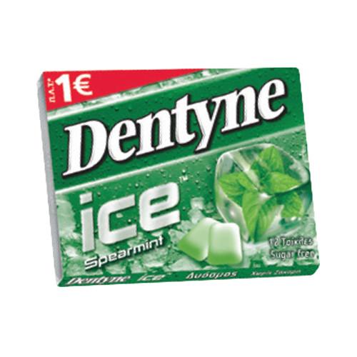 DENTYNE ICE 14 τσίχλες 1€ (ΕΛ) spearmint