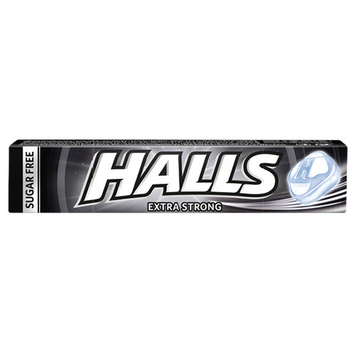 HALLS 32gr 20 καραμέλες extra strong (ΕΛ)