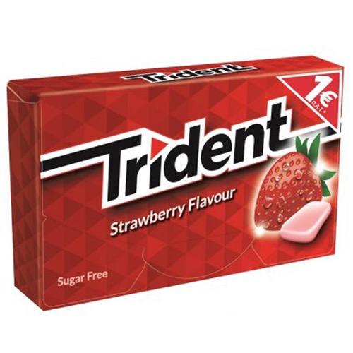 TRIDENT τσίχλες (EΛ) φράουλα
