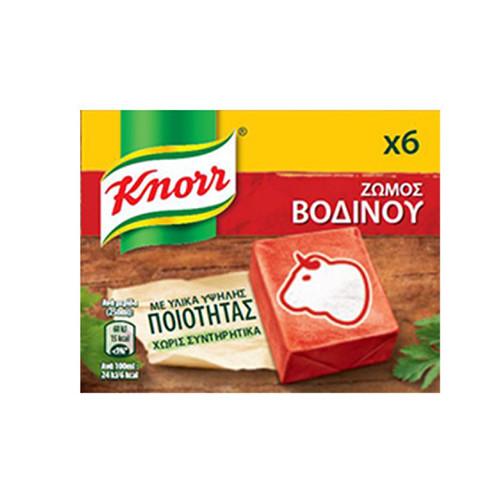 KNORR 3lt 6 ΚΥΒΟΙ (ΕΛ) ΒΟΔΙΝΟ