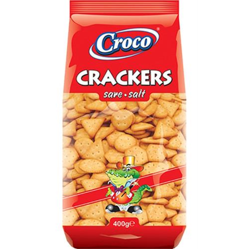 CROCO crackers 400gr (ΕΛ) αλάτι