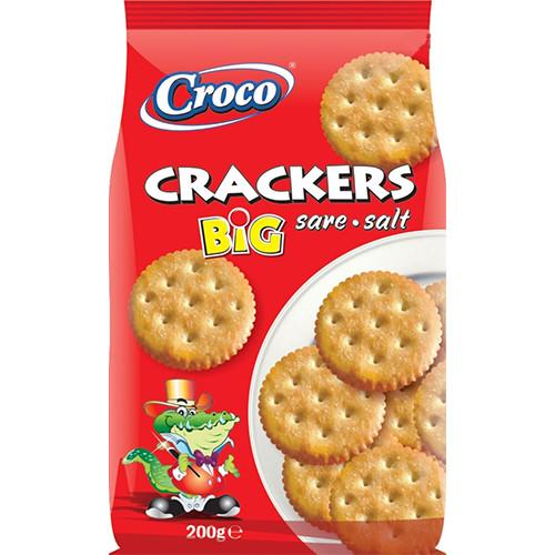 CROCO crackers 200gr (ΕΛ) αλάτι