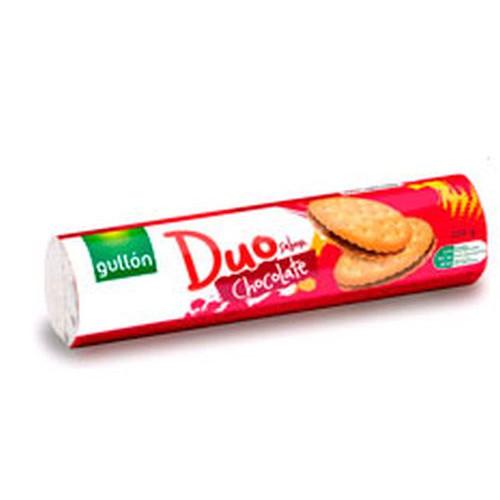 GULLON μπισκότα γεμιστά choco 250gr (ΕΛ)