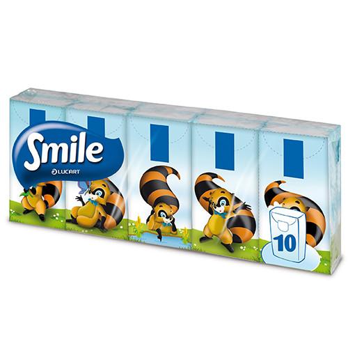 SMILE ΧΑΡΤΟΜΑΝΤΗΛΑ τσέπης 10τεμ x 3φ