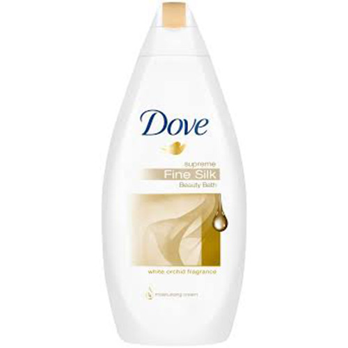 DOVE bath 700ml silk