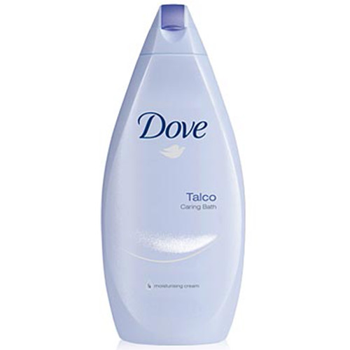 DOVE bath 700ml talc