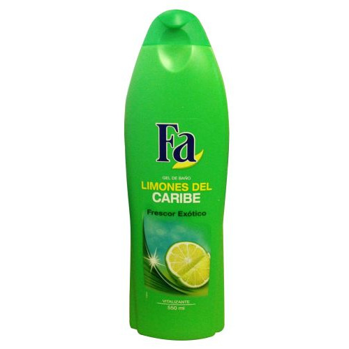 FA bath 550ml caribbean lemon