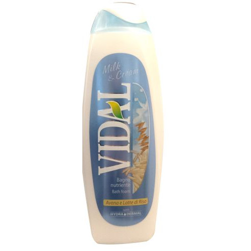 VIDAL bath 500ml milk n΄cream