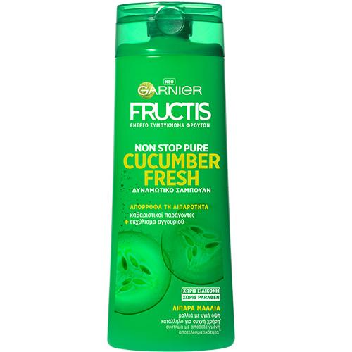 FRUCTIS sh. 400ml (ΕΛ) fresh cucumber