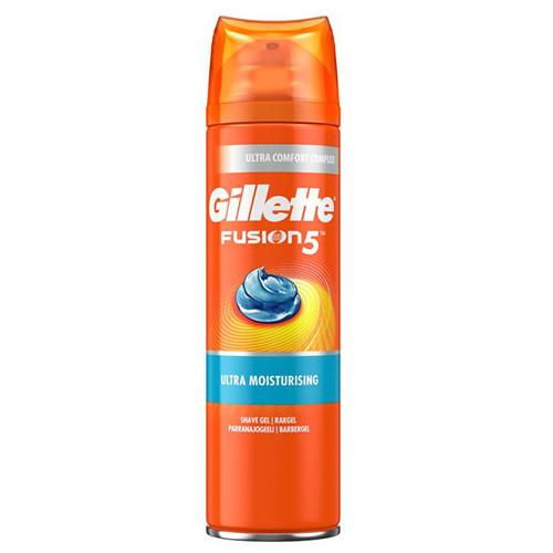 GILLETTE fusion hydra gel 200ml ultra moisturising