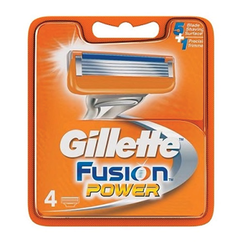 GILLETTE FUSIOΝ POWER ΑΝΤ/ΚΑ 4τεμ