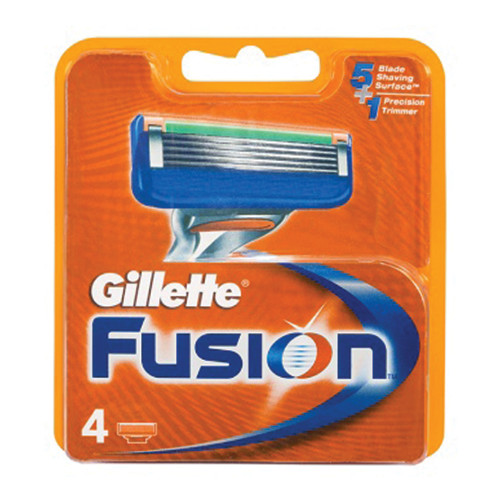 GILLETTE FUSIOΝ ΑΝΤ/ΚΑ 4τεμ (ΕΛ)