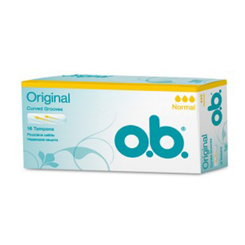 OB ταμπόν normal 16τεμ (ΕΛ)