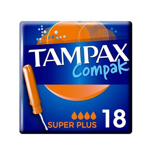 TAMPAX ταμπόν 16τεμ (ΕΛ) super plus