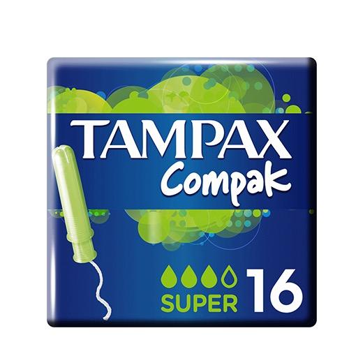 TAMPAX ταμπόν 16τεμ (ΕΛ) super