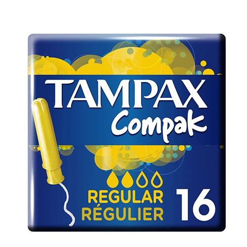 TAMPAX ταμπόν 16τεμ (ΕΛ) regular