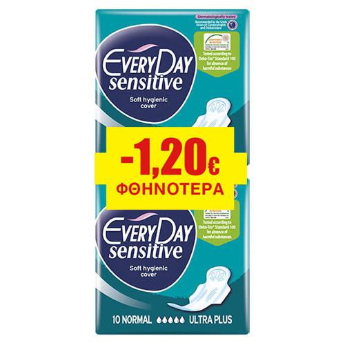 EVERYDAY ΣΕΡΒΙΕΤΕΣ 18τεμ sensitive normal (ΕΛ)