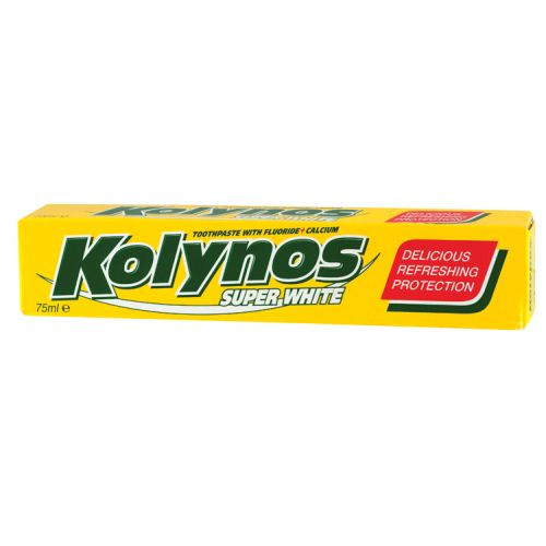 KOLYNOS οδοντόκρεμα 75ml super white